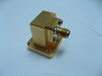 WR137 With FBP Flange to SMA Female Waveguide to Coax Adapter Operating From 5.38 GHz~8.17 GHz
