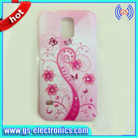 new custom colorful butterfly cell phone case for samsung galaxy S5 i9600