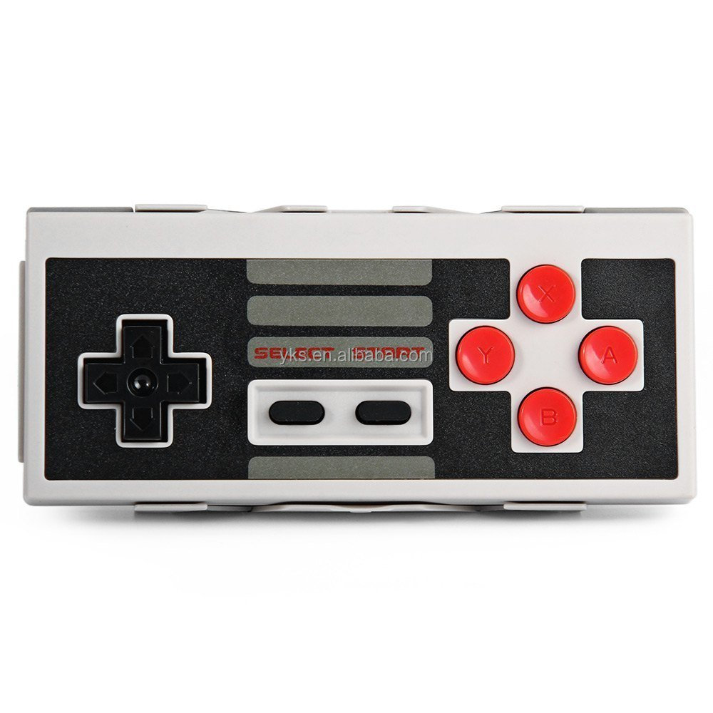 8Bitdo NES30 Bluetooth Wireless Classic Controller for iOS and Android Gamepad - PC Mac Linux