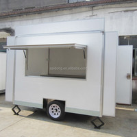 HOT SALES Mobile Food Carts With Wheels food vending trailer