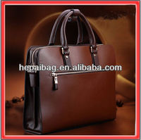2013 Genuine Italian Leather Briefcase Bag Handbag Vintage Man 13 laptop Messenger Retro 14