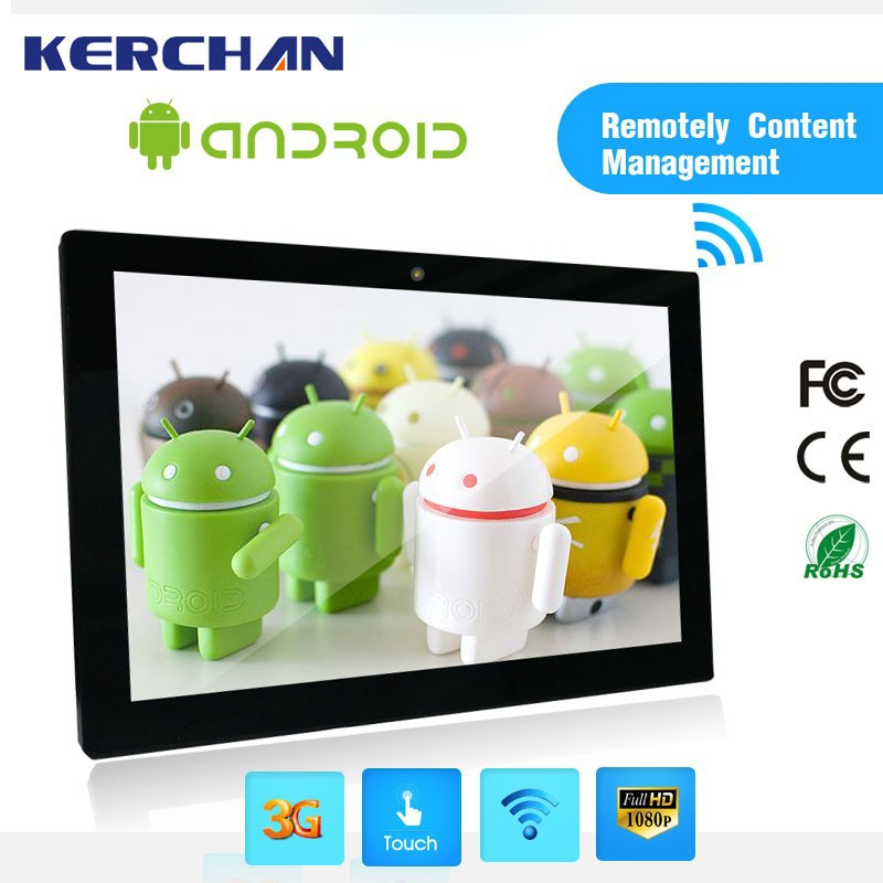 Google Quad Core Android 4.4 Smart tv/best advertising display solutions provider