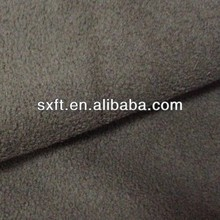 100% polyester thick polar fleece fabric