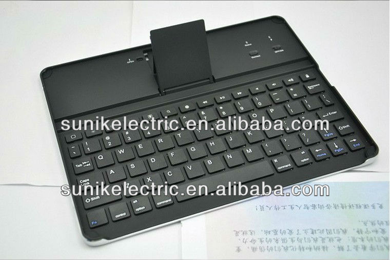 2013 Hot sales Aluminum Alloy Bluetooth Wireless Keyboard For Apple iPad 2nd 3rd Gen Macbook Mac Computer PC