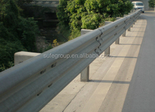 Sell steel highway guardrails of two wave