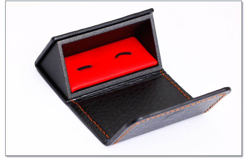New Custom Design Cufflink Box Jewelry Display Box