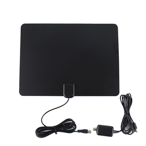 25Dbi Digital Thin Patch Indoor Dvb-T Tv Tv Clear Signal Antenna