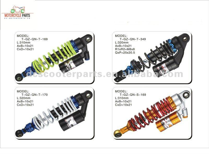 Racing Scooter Shock Absorber for Piaggio,Yamaha,Gy6,Suzuki