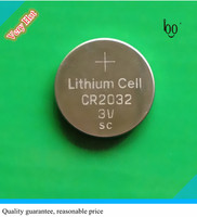 Button cell battery cr2032 3v 210mah sc cr2032 lithium battery