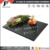 Pure natural black color credible quality slate stoneware tableware