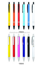 colorful ballpoint pen metal ball pen for promotional