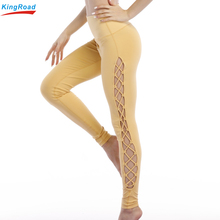 Women Good stretch tight women leggings active pants yoga pants