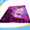 Superior blanket 1ply 2 ply bedroom printed soft plush Heavy knitted blanket