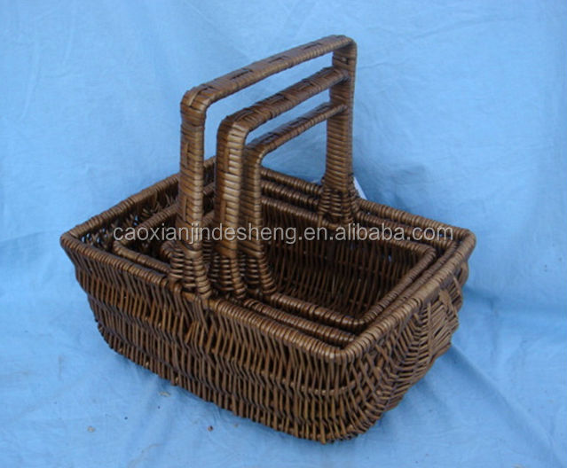 Basket Weaving Supply Companies : Ping basket trolley wicker weave