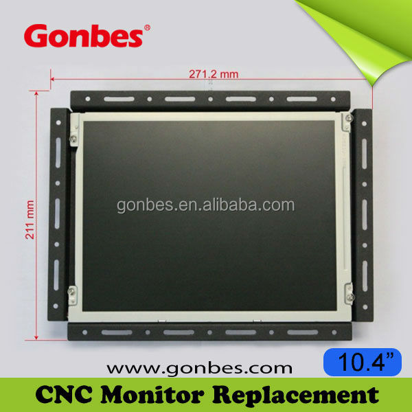 Manufacturer Supply! VGA LCD Screen for Matsushita TR-121A1B CNC Monitor Replacement