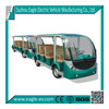 Electric tourist car, passengers amusement vehicle, EG6118TB+EG6118TB trailer