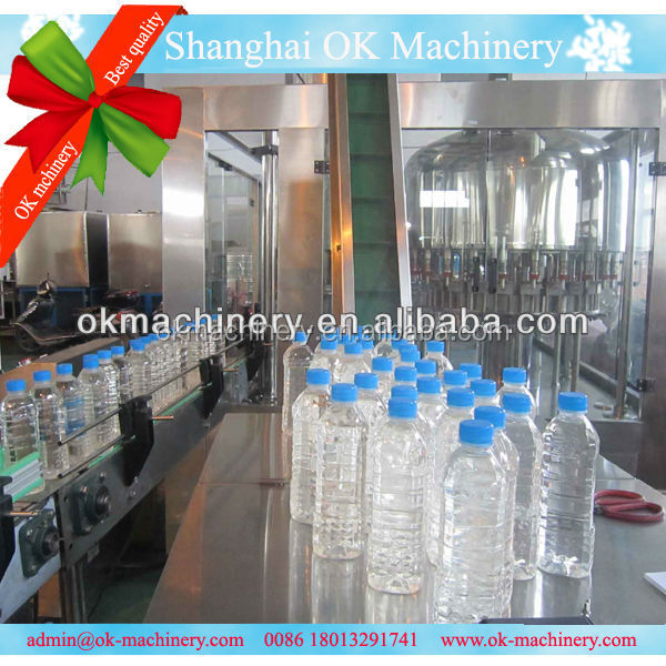 OK118 bottle filling capping and labeling machine