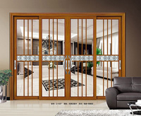 interior room used sliding glass aluminium sliding door for sale