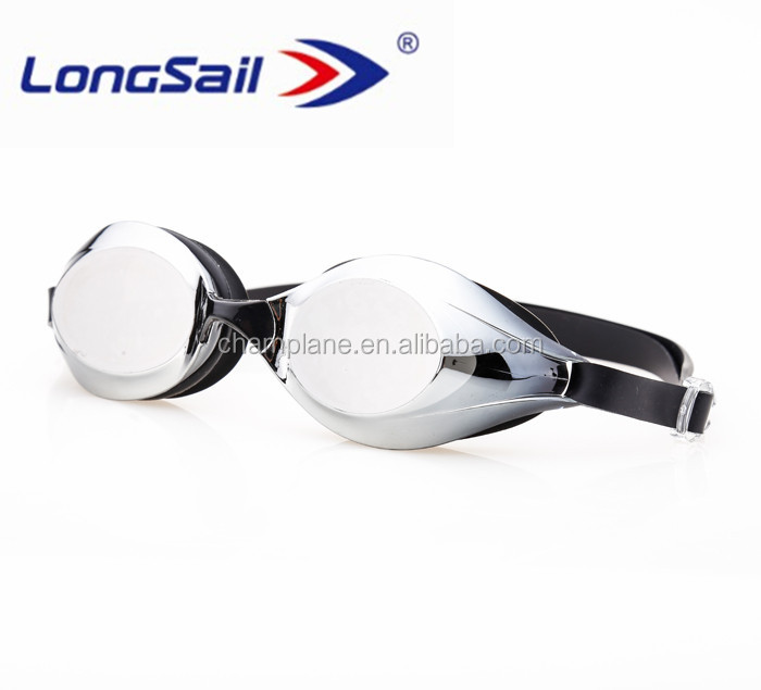 New top brand custom swimming competition goggles from factory guangzhou
