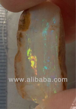 25ct Top Quality Precious Australia Opal Rough with clear huge colour Bar