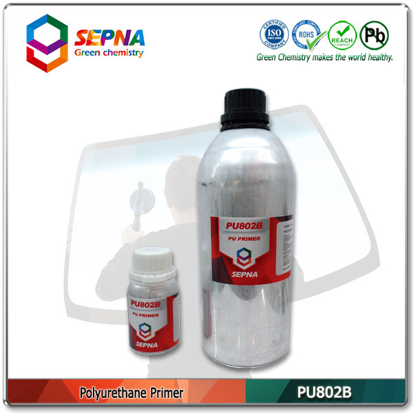 PU802 Windshield Glass Primer for Glass Installation