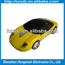 Sports car model of the mouse The new wireless mouse