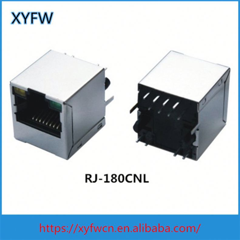 Good Quality Rj45 Type Cat 6 Keystone For Internet Female Socket Connectors