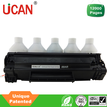 Unique Patented high yield 12000 pages cartridge compatible hp 388a toner cartridge