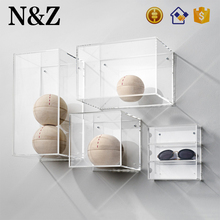 NZ M78 Good Quality Wall Mounted Large Clear Acrylic Display Box