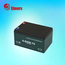 2018 best selling whosale china best cheap 6dzm12 e-bike battery
