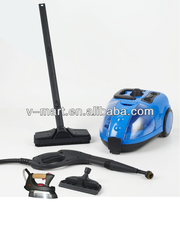 V-MART new model big canister steam cleaner with adjustable buttom