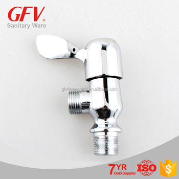 GFV-A1001 Hot sale new design zinc chrome toilet angle valve