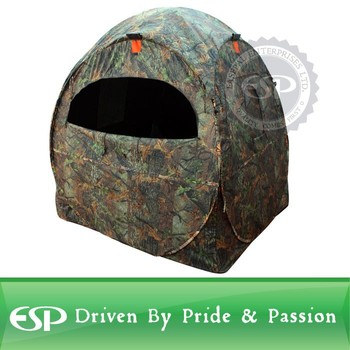 Spring Steel Doghouse Hunting Blinds Camouflage