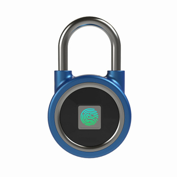 New Design Smart Bluetooth Fingerprint Hang Lock For Luggage Bags