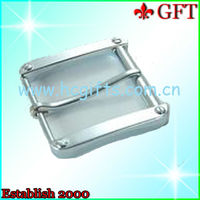 Durable metal plain belt buckles made in china