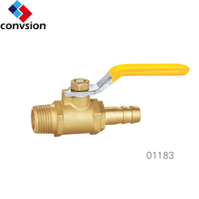 Certified nickel plating factory manufacture forged brass pex pipe gas ball valve