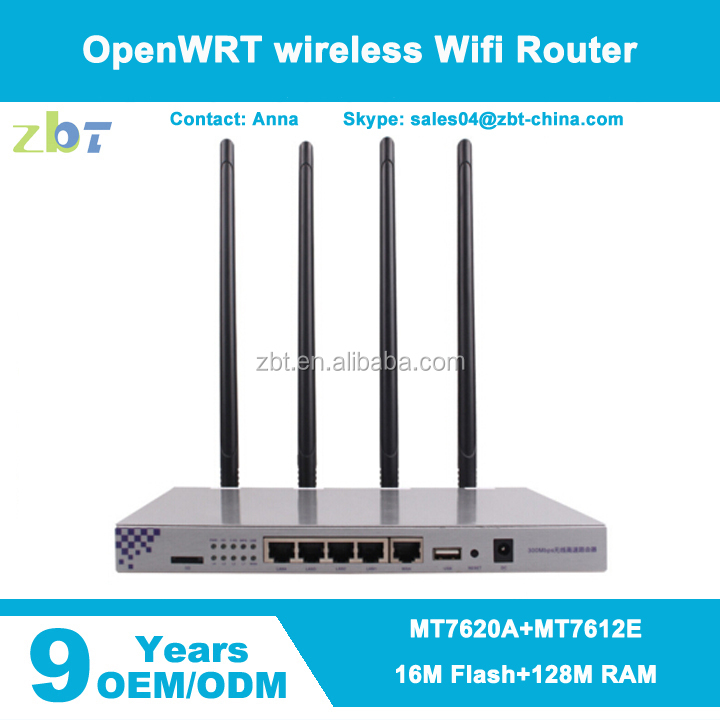 mt7620a+mt7612e openwrt wireless wifi router support 2.4GHz and 5.8Ghz