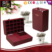 China Supplier Promotional Luxury Strong Custom Wooden Wine Storage Box
