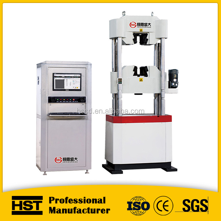 steel wire tensile strength hydraulic universal testing machine