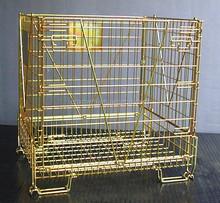 evergreat metal wire mesh basket for PET PREFORM storage