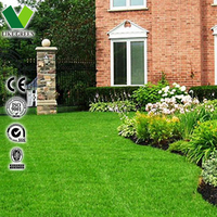 Artificial Grass Garden Fence Gardening