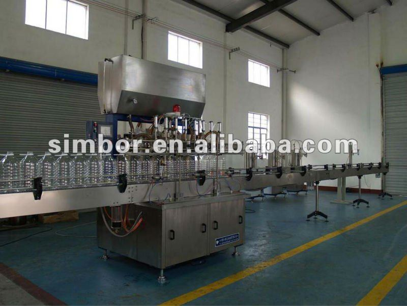 Sesame oil filling and capping machine