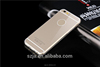 Hot High Quality Transparent PC+TPU Case For Iphone se back cover