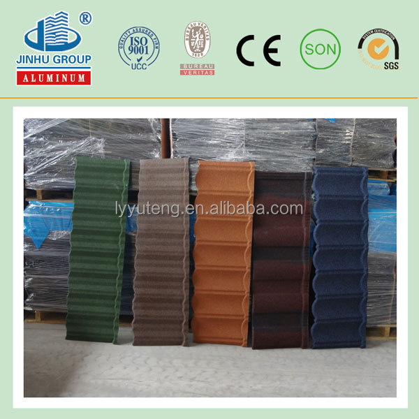 Very very cheap metal roof tile hot for africa FACTORY sunlight/jinhu/fuda