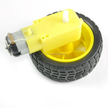 Smart Car Tire <strong>Wheel</strong> with Gear Motor 1:48 Dual Shaft