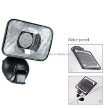 2015 New and Hot pir sensor light ip44 solar outdoor wall lamp/solar motion sensor light