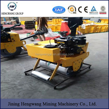 High speed HW-550 walk behind Rotating flexible vibratory road roller