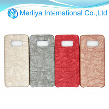 NEW Stone Pattern PU leather phone case for Sam S8/S8Plus