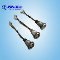 manufacturing cable assembly interconnects with straight plug connector