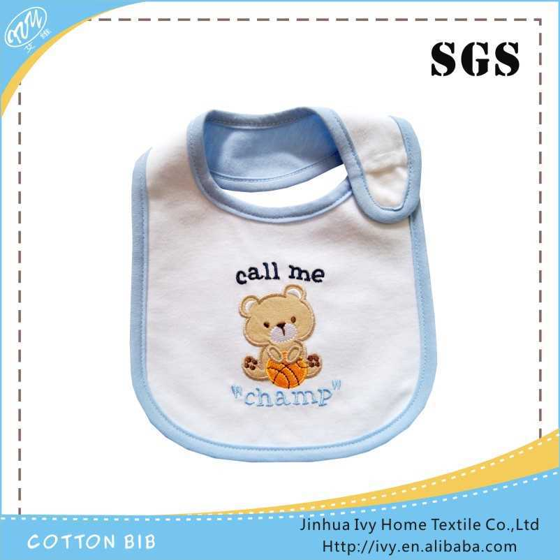 Hot Sale Multi styles Cartoon Baby Bibs cute cotton waterproof baby boy bibs